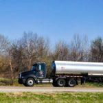 large oil tanker truck Queener Law
