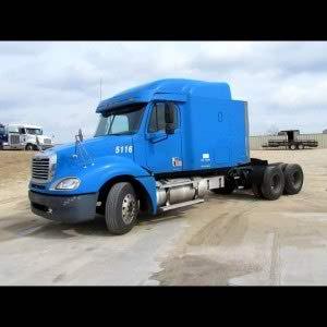 semi truck with no bed of truck Queener Law